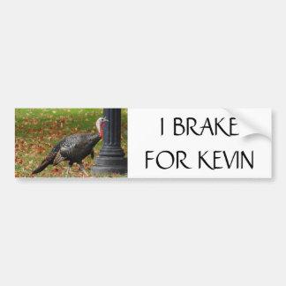 Adesivo Para Carro Kevin a Turquia - FREIO de I PARA KEVIN