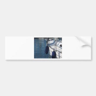 Adesivo Para Carro Lado esquerdo do barco de navigação com os dois