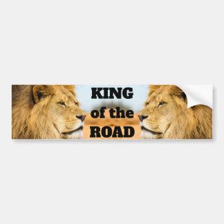 Adesivo Para Carro Leão grande que olha longe