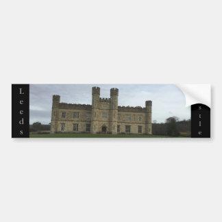 Adesivo Para Carro Leeds Castle
