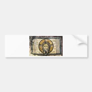 Adesivo Para Carro Lenço santamente de Jesus do ícone ortodoxo do