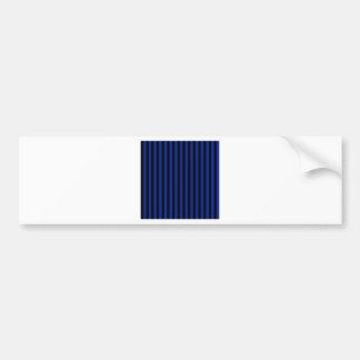 Adesivo Para Carro Listras finas - pretas e azul imperial