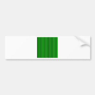 Adesivo Para Carro Listras finas - pretas e verde elétrico