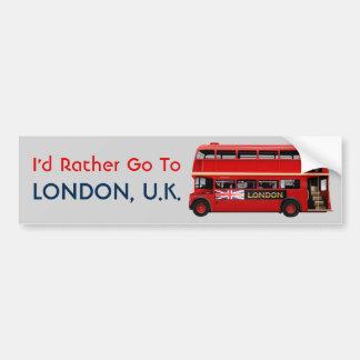 Adesivo Para Carro Londres temático
