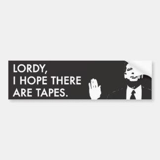 Adesivo Para Carro Lordy, eu espero que há fitas