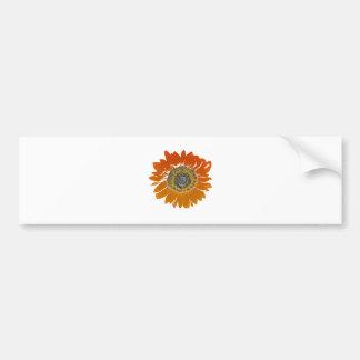 Adesivo Para Carro Luz do sol do girassol