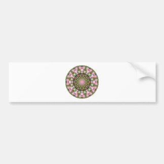 Adesivo Para Carro Mandala da flor, corações de sangramento 02.0_rd