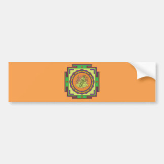Adesivo Para Carro Mandala de Ganesha