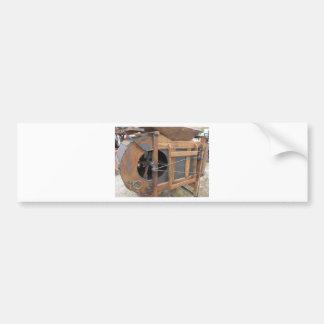 Adesivo Para Carro Máquina manual usada para descascar o milho