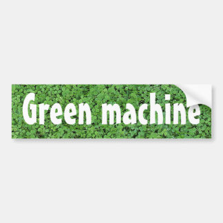 Adesivo Para Carro Máquina verde psta biodiesel
