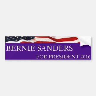 Adesivo Para Carro Máquinas de lixar de Bernie para o presidente 2016