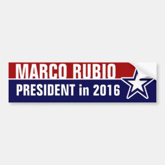 Adesivo Para Carro Marco Rubio em 2016