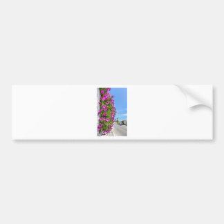 Adesivo Para Carro Margaridas espanholas cor-de-rosa de suspensão na