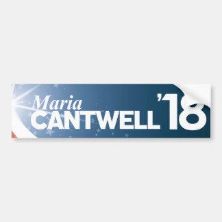 Adesivo Para Carro Maria Cantwell
