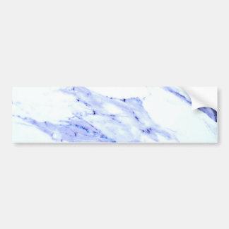 Adesivo Para Carro Mármore azul e branco