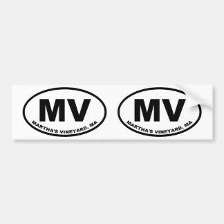 Adesivo Para Carro Martha's Vineyard milivolt