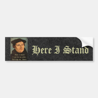 Adesivo Para Carro Martin Luther aqui eu estou a cotação