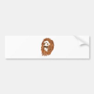 Adesivo Para Carro Máscara do leão