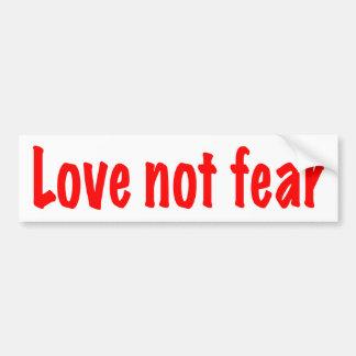 Adesivo Para Carro Medo do amor não