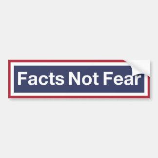 Adesivo Para Carro Medo dos fatos não