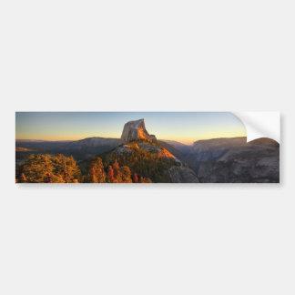 Adesivo Para Carro Meia abóbada no por do sol - Yosemite