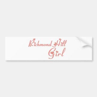 Adesivo Para Carro Menina de Richmond