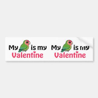 Adesivo Para Carro Meu Lovebird é meus namorados