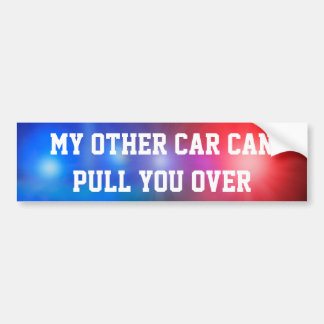 Adesivo Para Carro Meu outro carro pode puxá-lo sobre