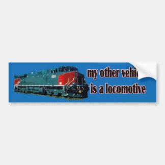 Adesivo Para Carro Meu outro veículo é um SP da locomotiva