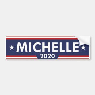 Adesivo Para Carro Michelle Obama 2020