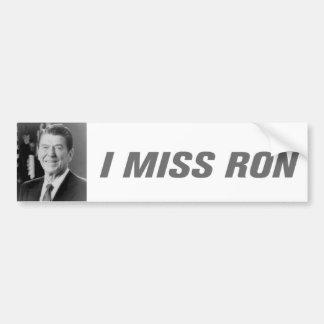 Adesivo Para Carro Mim autocolante no vidro traseiro da senhorita Ron