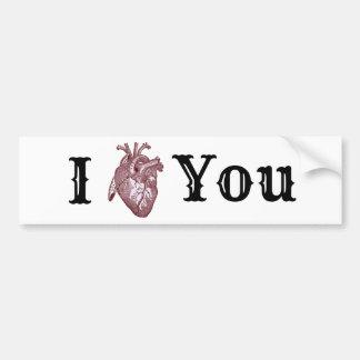 Adesivo Para Carro Mim coração você