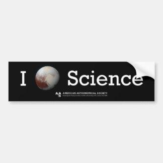 Adesivo Para Carro Mim (etiqueta da ciência do coração de Pluto)
