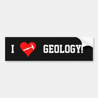 Adesivo Para Carro Mim geologia do coração!