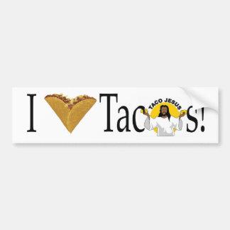Adesivo Para Carro Mim Tacos (do coração)