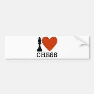 Adesivo Para Carro Mim xadrez do coração