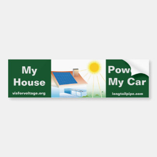 Adesivo Para Carro Minha casa pôr meu carro - autocolante no vidro