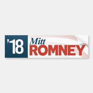 Adesivo Para Carro Mitt Romney 2018