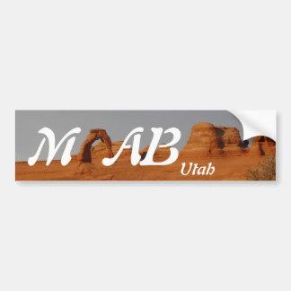 Adesivo Para Carro Moab, Utá