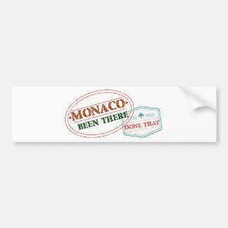 Adesivo Para Carro Monaco feito lá isso