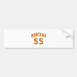 Adesivo Para Carro Montana 55 designs do aniversário