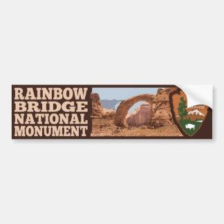 Adesivo Para Carro Monumento nacional da ponte do arco-íris