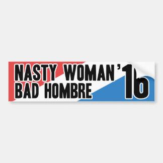 Adesivo Para Carro Mulher desagradável - Hombre mau '16