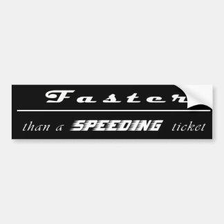 Adesivo Para Carro Multa por excesso de velocidade