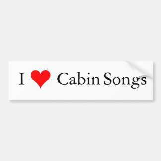 Adesivo Para Carro Música de Bluegrass: Mim canções da cabine (do
