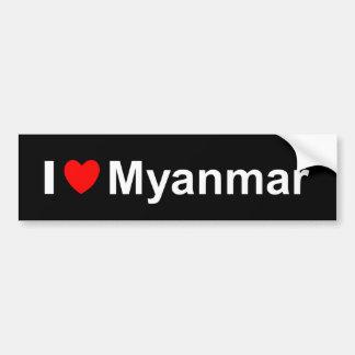 Adesivo Para Carro Myanmar