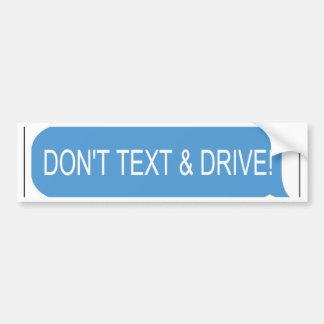 Adesivo Para Carro Não fazem o texto & a movimentação
