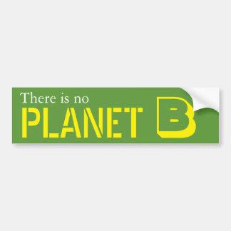 Adesivo Para Carro Não há nenhum planeta B