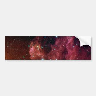 Adesivo Para Carro NASA vermelha da nuvem do céu da poeira Sig07-006