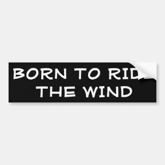 Adesivo Para Carro Nascer para montar o vento